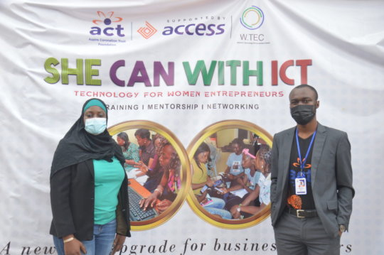 SHE CAN with ICT project launch