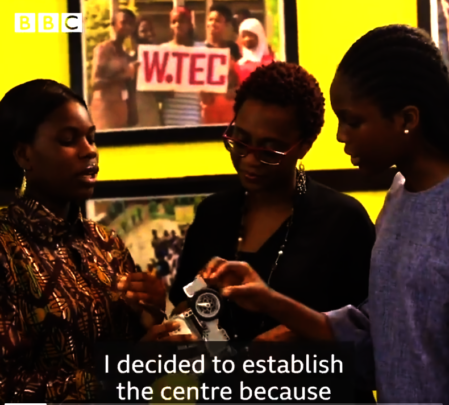 W.TEC Featured on BBC Africa