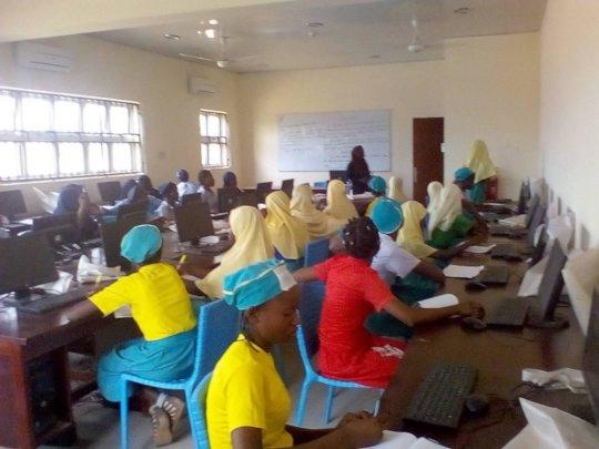 W.TEC Academy (afterschool tech. club) in session