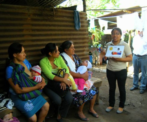 WINGS doing outreach in rural Guatemala
