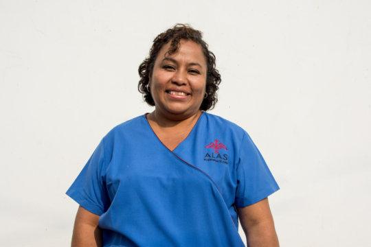 Nurse Flori and her sweet smile