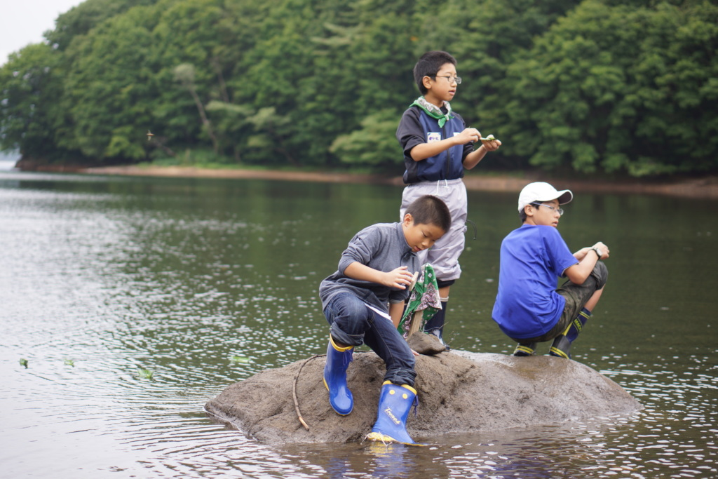 Nature camp hosted by Whole Earth Fukushima