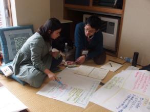Whole Earth Fukushima team at WIT Learning Journey