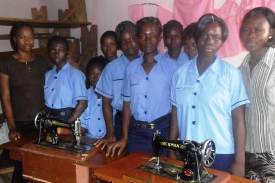 Ladies at Tailoring Department