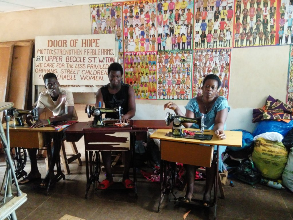Students on Training