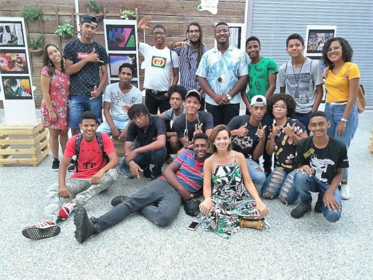 Young artists exhibit their work