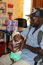 "Baby ""P.I."" and his papa"