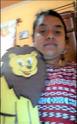 Cristina Teaching Lion Poem