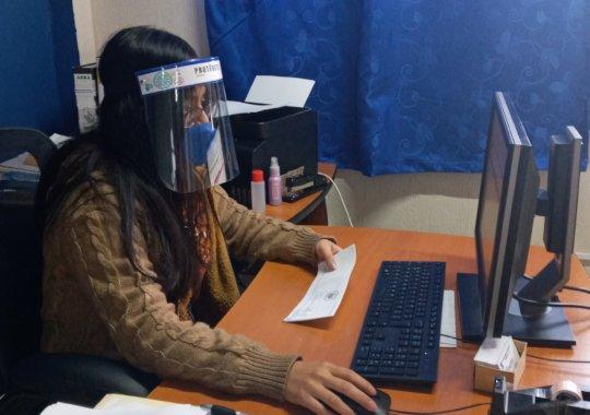 Deysi at Work During the Pandemic