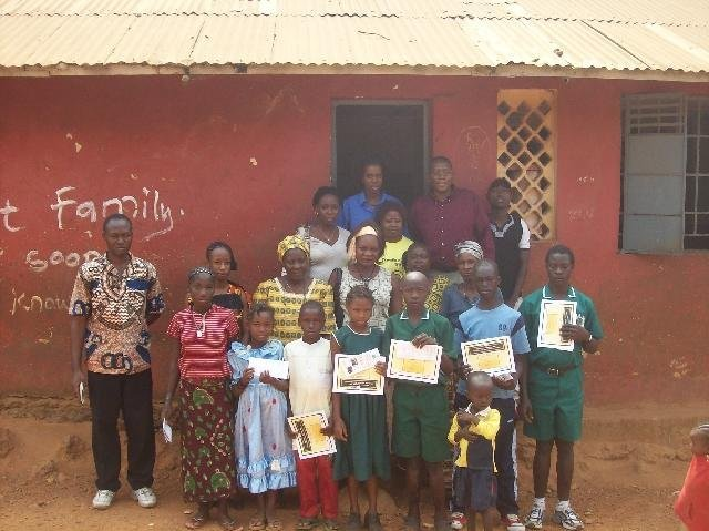 Provide Scholarships to Sierra Leonean Children