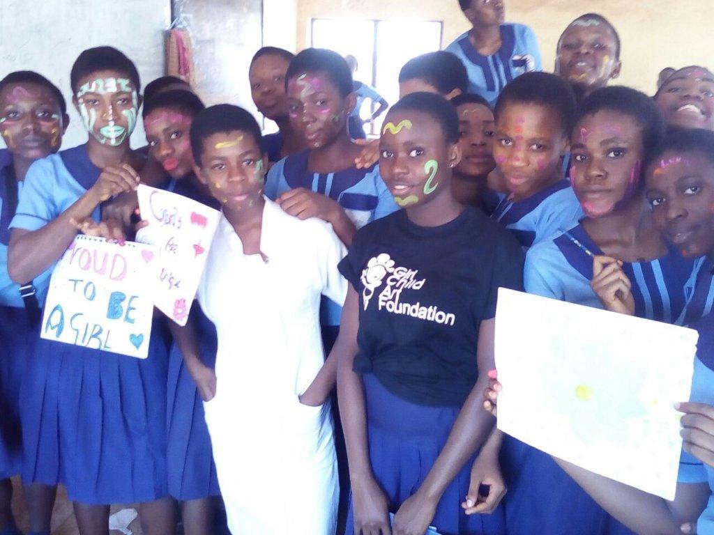 A creative session in Lady Ibiam club girls, Enugu
