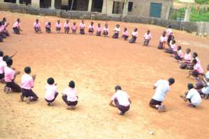 Games and dance by our girls