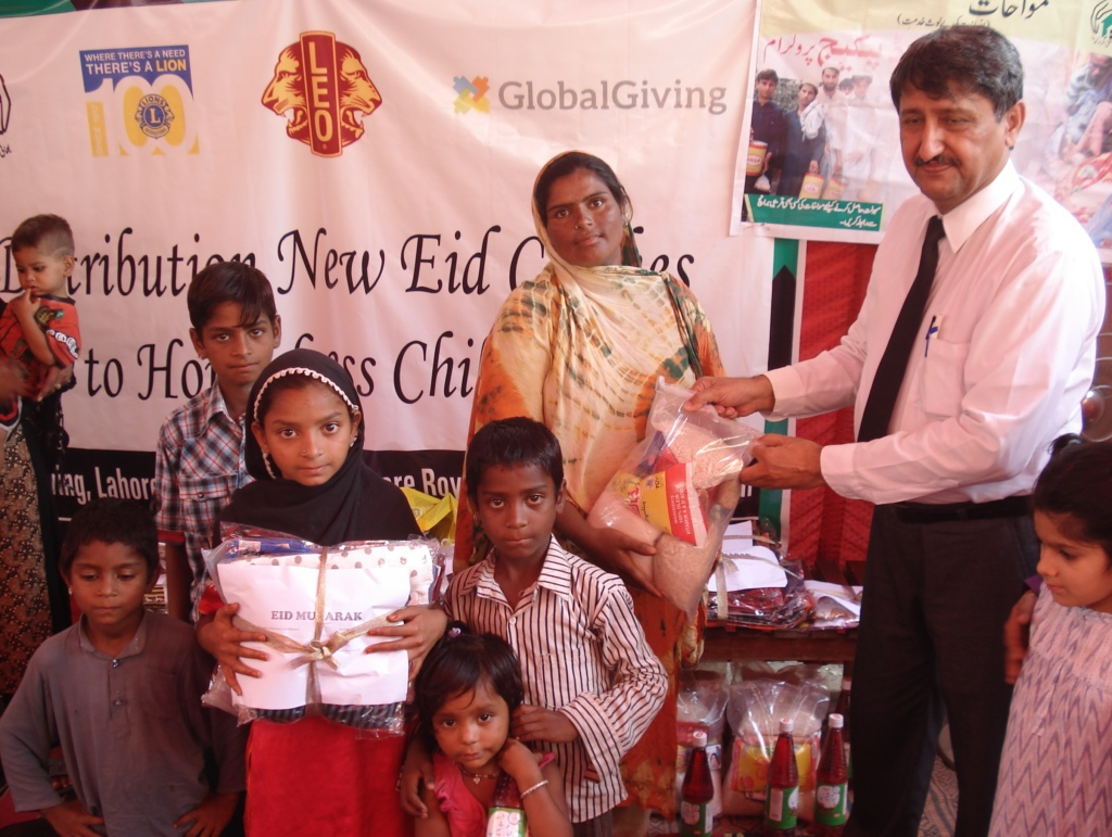 New Eid Clothes distributed to children