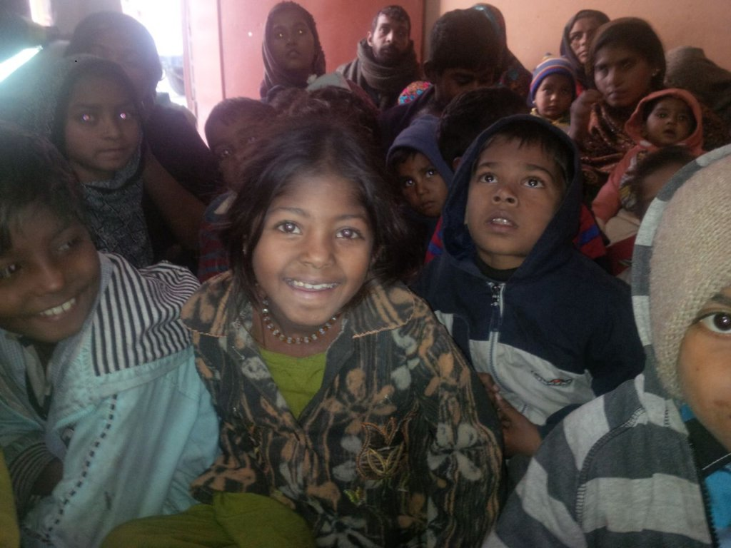 Little angles invited for new warm clothes