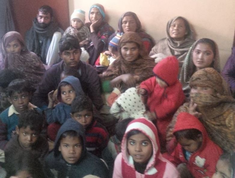 40 families attended event