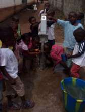 Primary Water and sanitation in YUA school