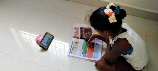 child in home school