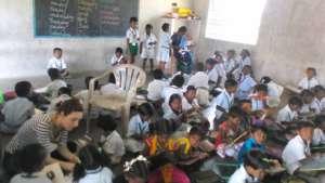 volunteer in class