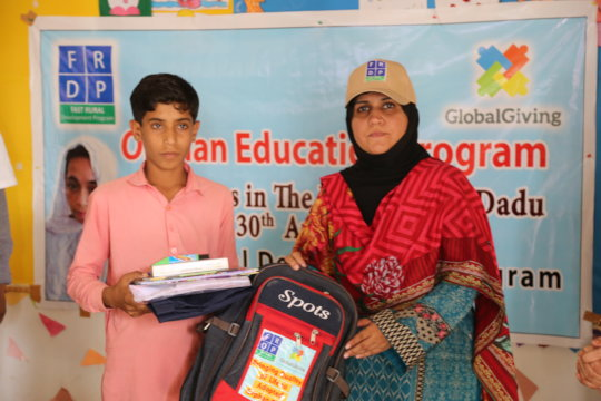 Bringing Quality of Life to Adopted Orphan Child