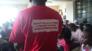GBV sensitization