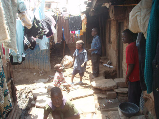 At home in Mathare