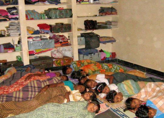 Gift Bunk Beds to Sphoorti Children