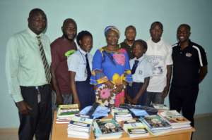 Principal, our STEM Girls & Timeout4africa staff