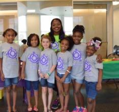 STEM GIRLS SHINE EXPO promoting creativity