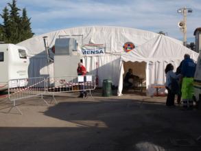 Caldarola - Relief camp