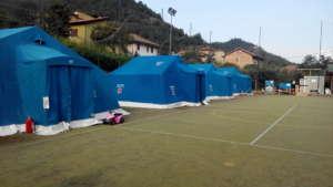 Montegallo - relief camp