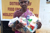 Help to provide food groceries to neglected elders