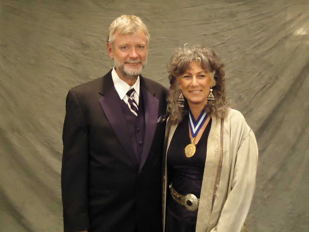 Dr. Laurie Marker and Dr. Bruce Brewer