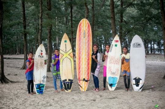 Support the Surfer Girls of Bangladesh