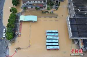 Fujian Province hit by Super Typhoon