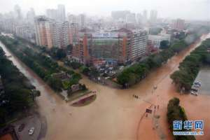 Typhoon strike Fujian Province
