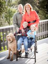 Founder w/ her 2 Adopted Medically Fragile Kids.