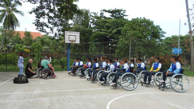 CNVLD Wheelchair Basketball 2012 B