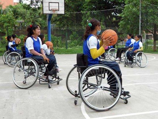 CNVLD Wheelchair Basketball 2012 D