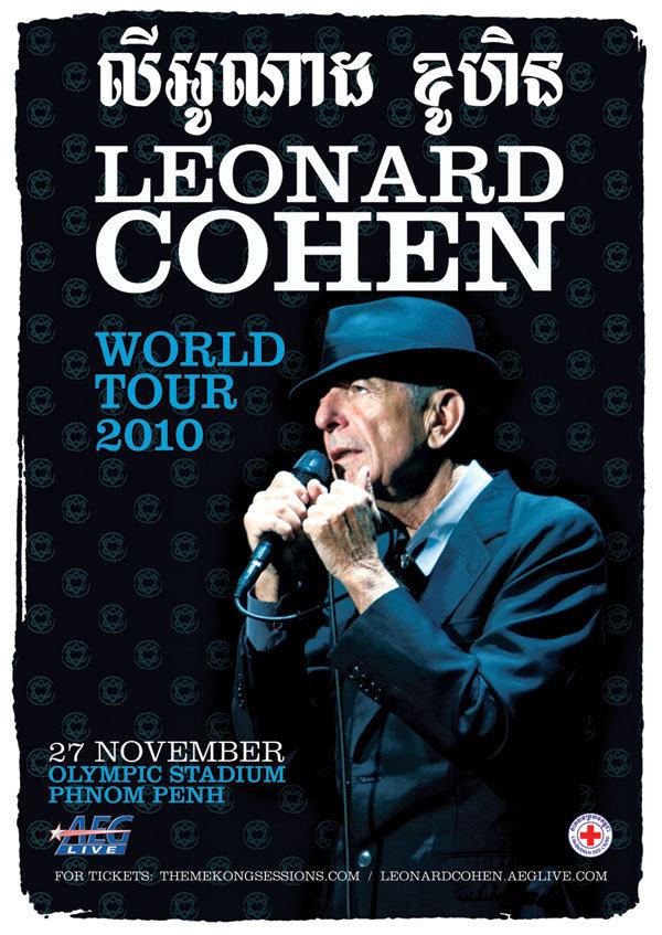 Leonard Cohen Live in Phnom Penh