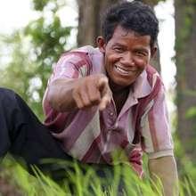 Cambodian Landmine Survivor