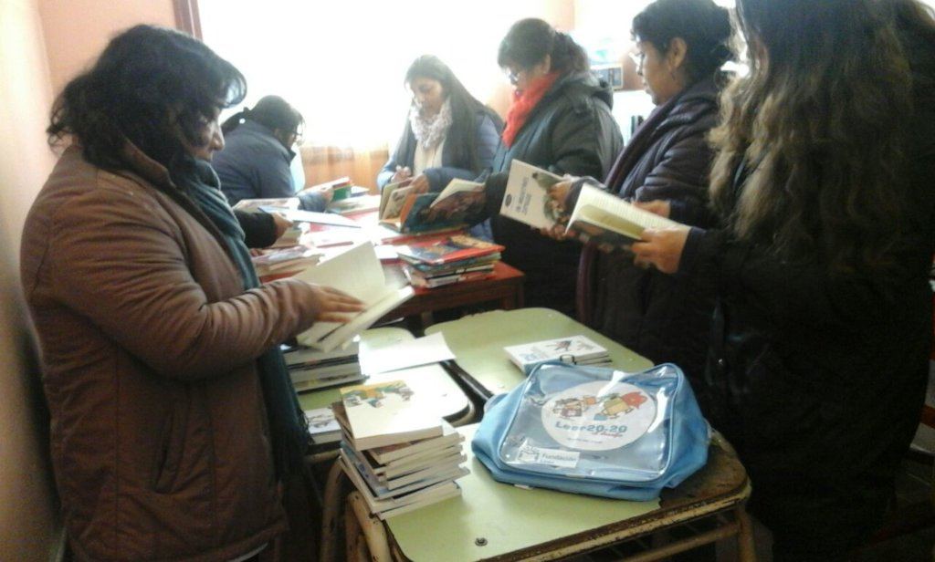 New Books for a Rural School in Jujuy !