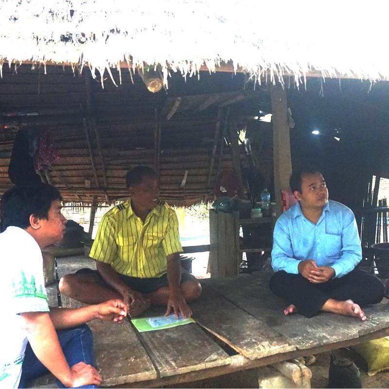 CRDT staff visiting Mr. Sameuron