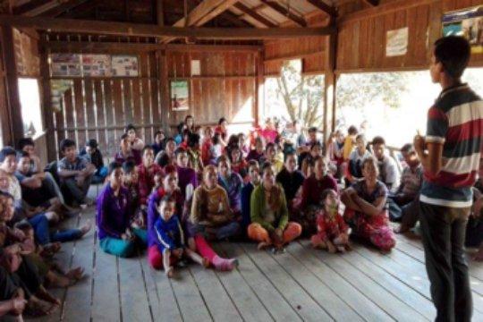 First training on sanitation
