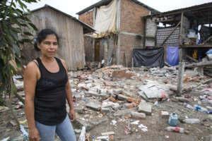 Earthquake devastation - Jaramijo