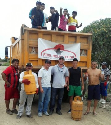 Fuel Relief Fund team, Ecuador