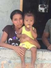 Single mother fuel recipient, Jaramijo