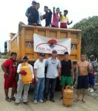 Fuel Relief Fund team, Ecuador