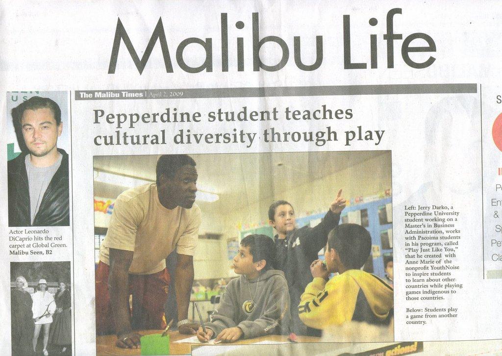 Malibu Times Cover