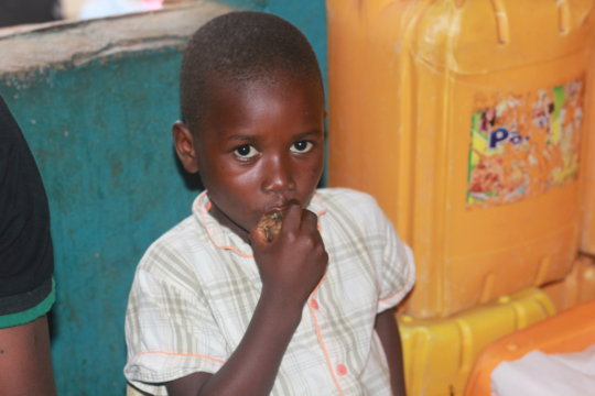 Nutritious Meals for Ebola Orphans