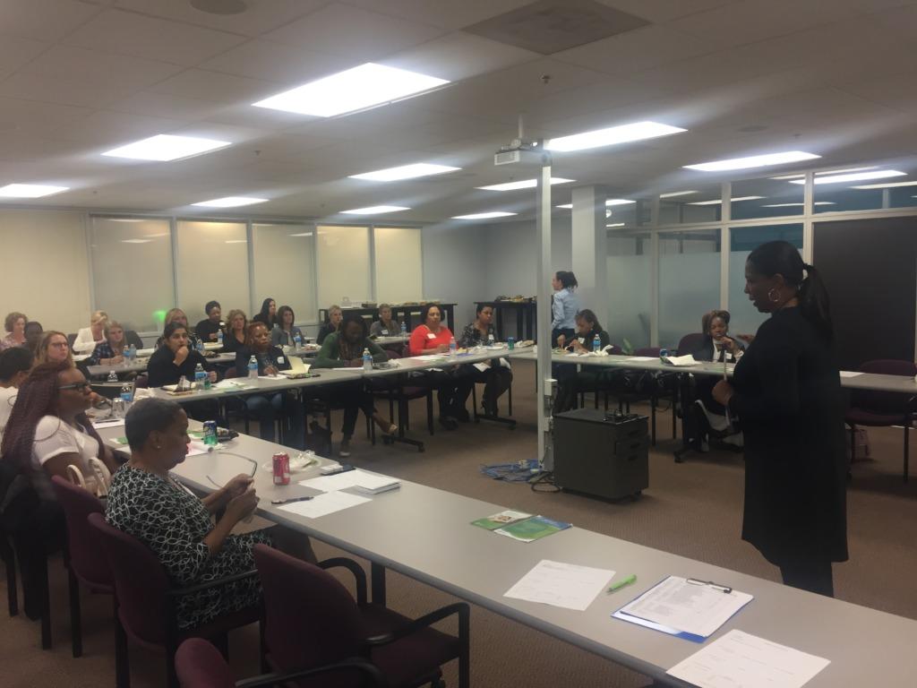 WEN Board Member Presenting Community Workshop